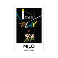 Магнит Milo Milk I Can Play In Top 10 ATP